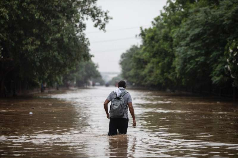 Excess monsoon rains can have an impact on agriculture and the economy