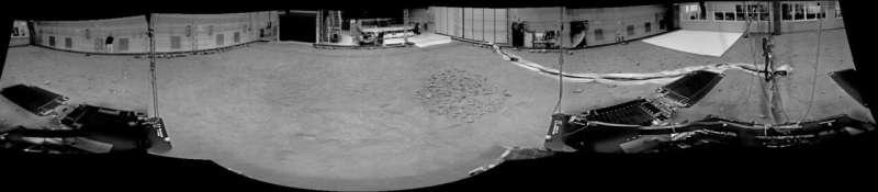ExoMars rover twin begins Earth-based mission in Mars Terrain Simulator