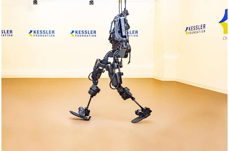 Exoskeleton-assisted walking may improve bowel function in people with spinal cord injury