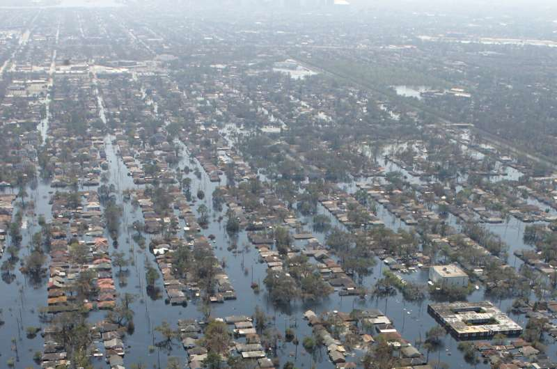 EXPLAINER: Ida, Katrina similar but tiny differences are key