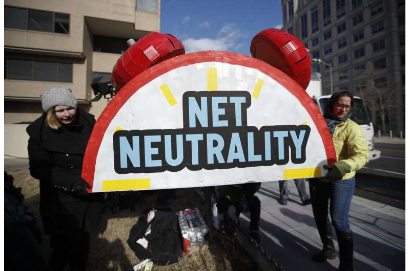 EXPLAINER: California's net neutrality law springs to life