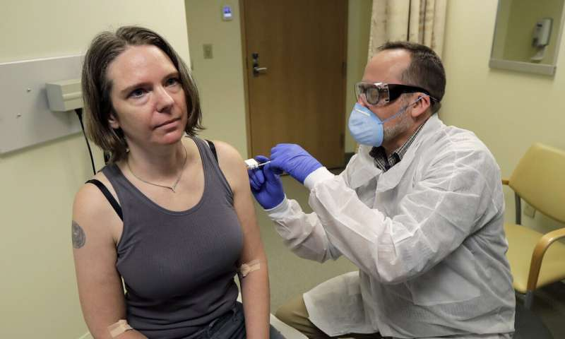 EXPLAINER: Should vaccine volunteers now get the real thing?
