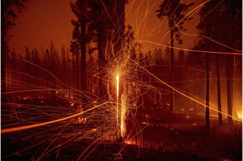 Explosive California wildfires could burn into December
