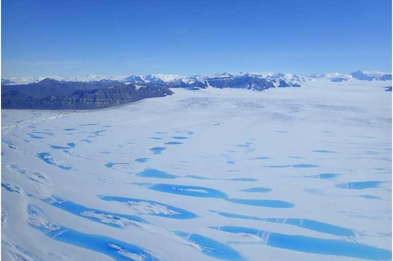 Extreme melt on Antarctica's George VI ice shelf