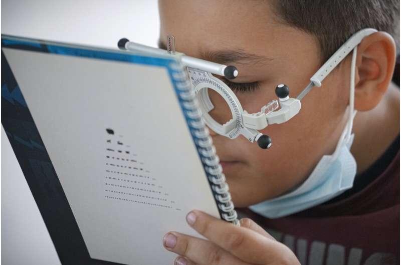 Eye exams seek to improve outlook for rural Romanian kids