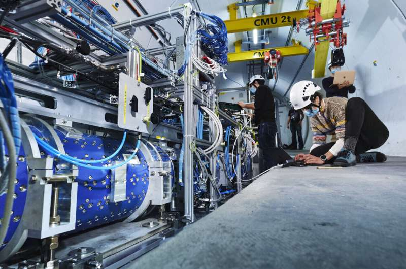 FASER is born: new experiment will study particles that interact with dark matter