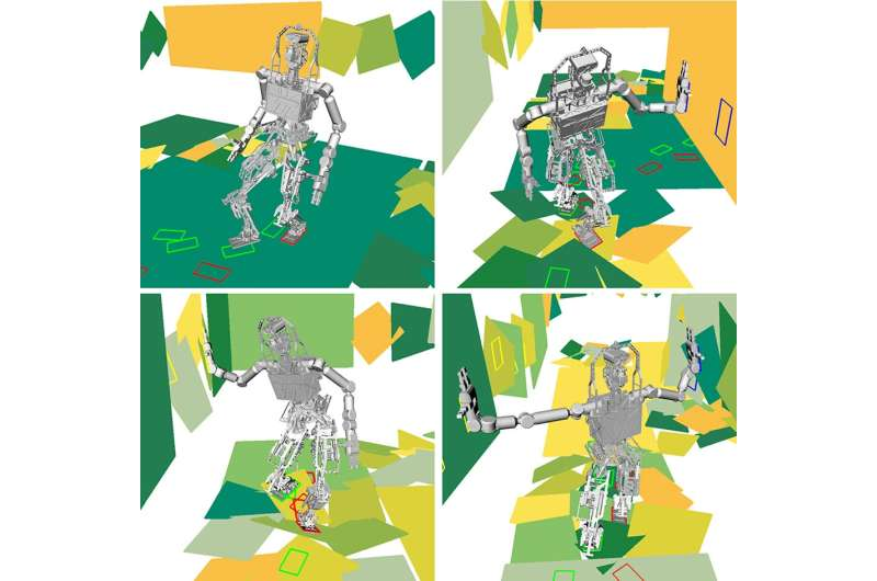 Faster path planning for rubble-roving robots