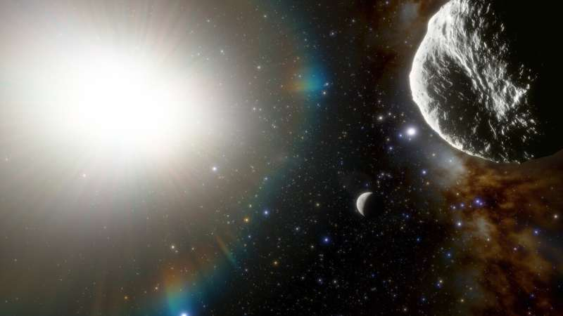 Fastest orbiting asteroid discovered Fastest-orbiting-aster