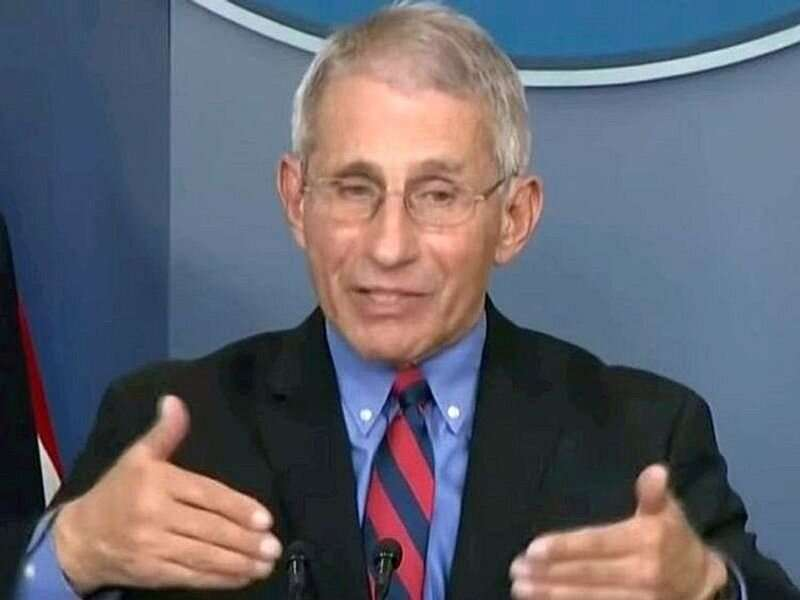 Fauci says U.S. will stay with two doses of pfizer, moderna vaccines