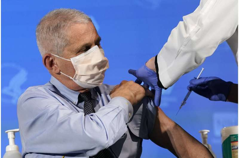 Fauci: US could soon give 1 million vaccinations a day