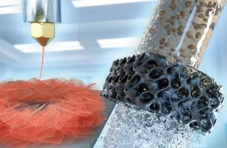 Finally, 3D-printed graphene aerogels for water treatment