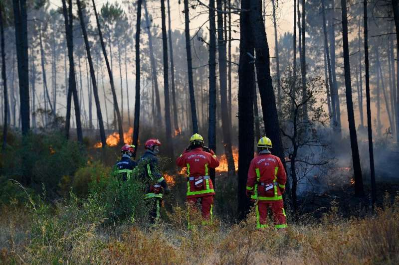 Firefighters say they hope to be able to announce they have contained the blaze on Thursday