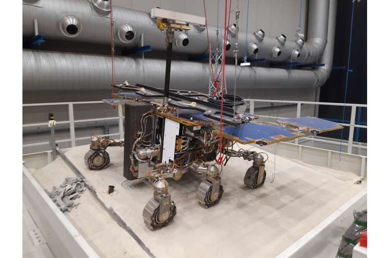 First deep drilling success for ExoMars