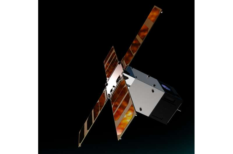 First light from Sunstorm CubeSat