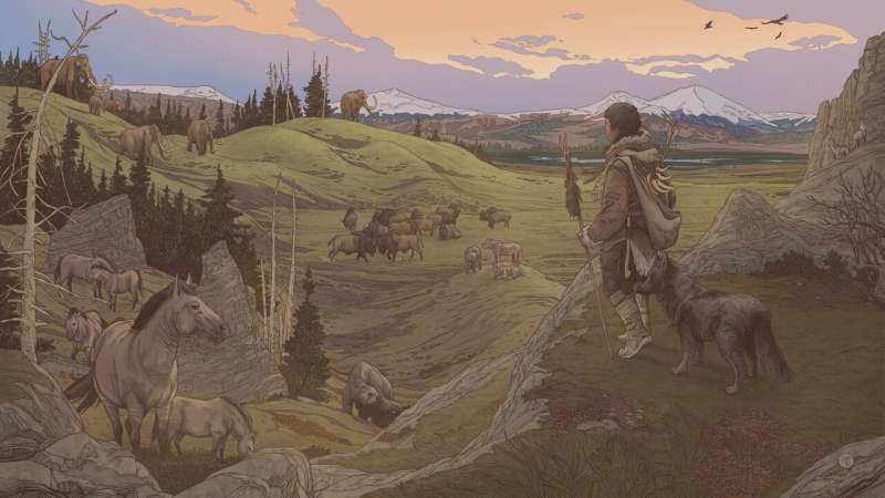 First people to enter the Americas likely did so with their dogs