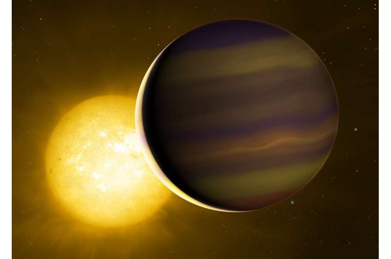 First transiting exoplanet's 'chemical fingerprint' reveals its distant birthplace