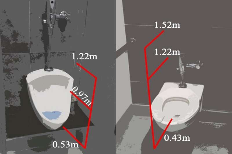 Flushing a public toilet? Don't linger, because aerosolized droplets do