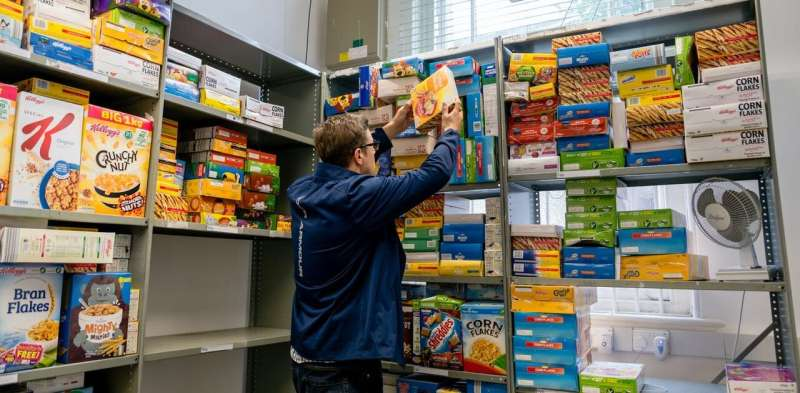 Food bank use surged during the pandemic – but they can rarely provide all the help people need