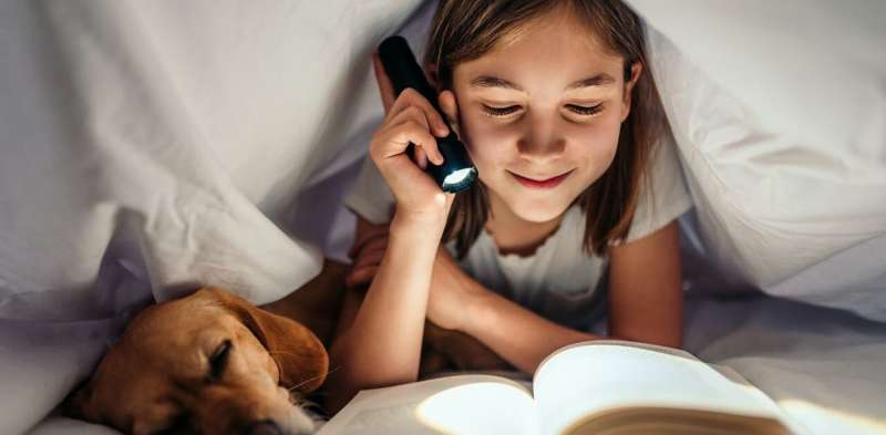 For children, it's not just about getting enough sleep. Bed time matters, too