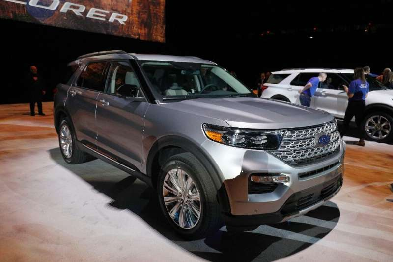 Ford recalled 775,000 Explorer sport utility vehicles built between 2013 and 2017, an earlier generation than this model, which