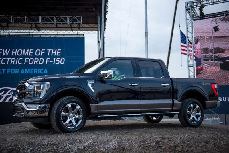 Ford's F-150 truck is one model that has been affected by the shortage of silicon chips