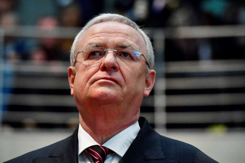 Former CEO Martin Winterkorn, seen in January 2017 in Berlin, denied having early knowledge of the emissions scam but resigned d