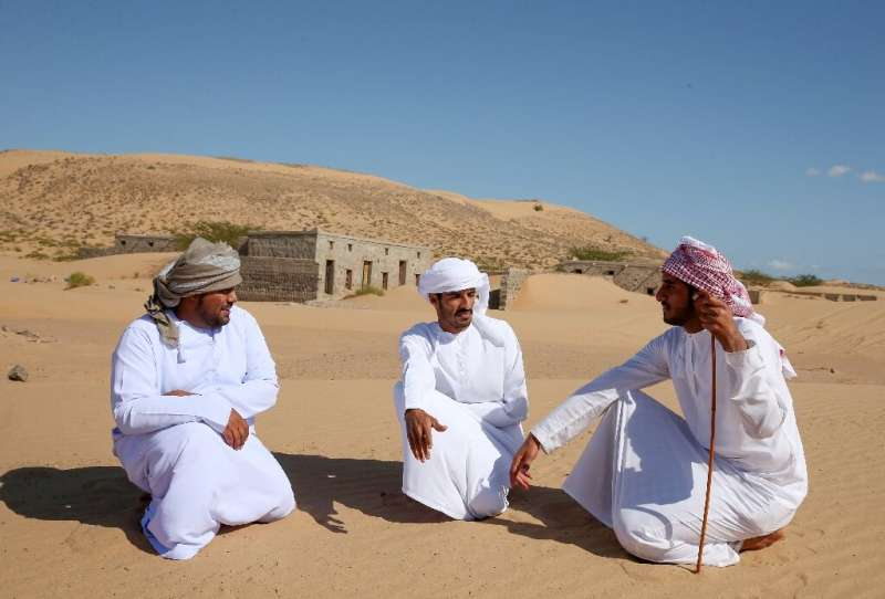 Former residents of Wadi al-Murr visit their abandoned village, which also attracts trekking and photography enthusiasts