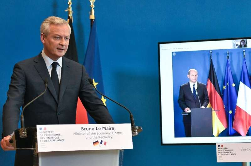France and Germany hope to shore up support for a global minimum tax rate plan proposed by the United States