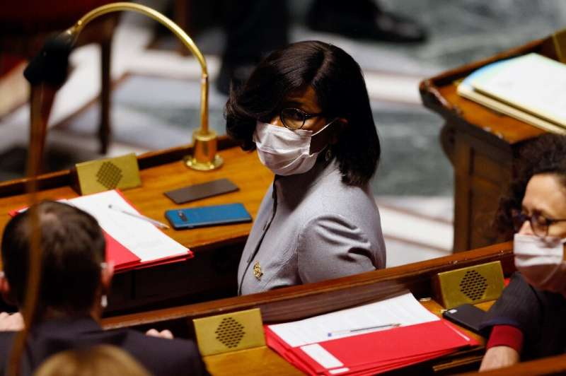French Junior Minister of Gender Equality Elisabeth Moreno. Women still hold just over a quarter of parliamentary seats worldwid