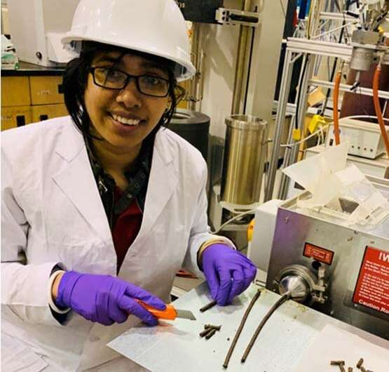 From ag waste to green energy source: researchers build better biomass pellet