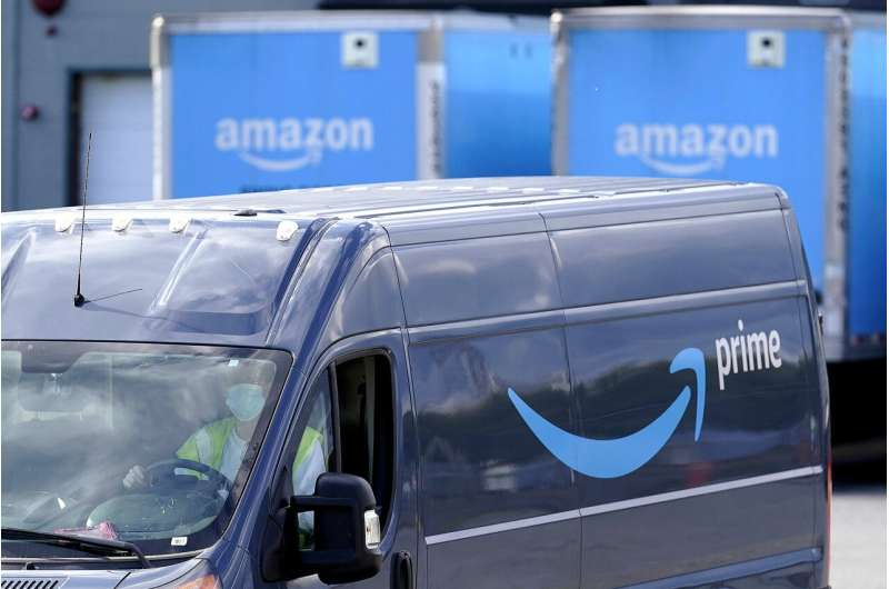 FTC says Amazon took $62 million in tips from drivers