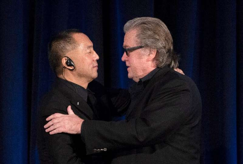 Fugitive Chinese billionaire Guo Wengui had formed an alliance with Steve Bannon, an adviser to former president Donald Trump