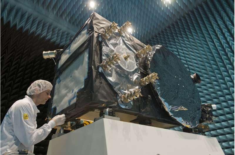 Galileo satellites' last step before launch