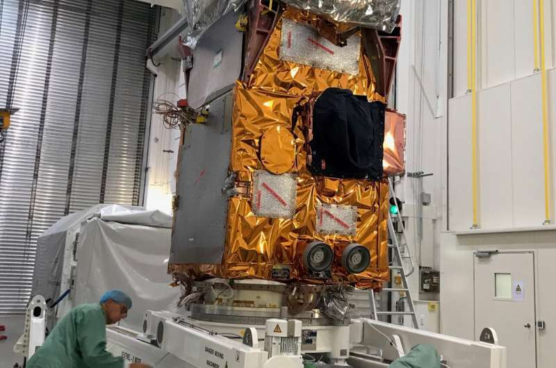 Gearing up for third Sentinel-2 satellite
