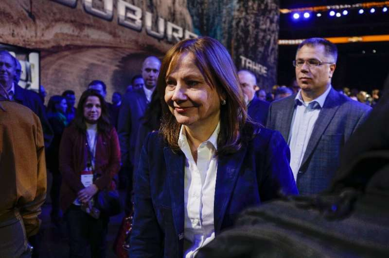 General Motors CEO Mary Barra said the company would double revenues by 2030