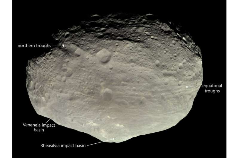 Geologists propose theory about a famous asteroid