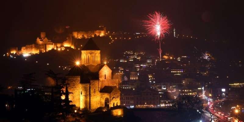 Ibu kota Georgia, Tbilisi, berusaha menarik pengembara digital