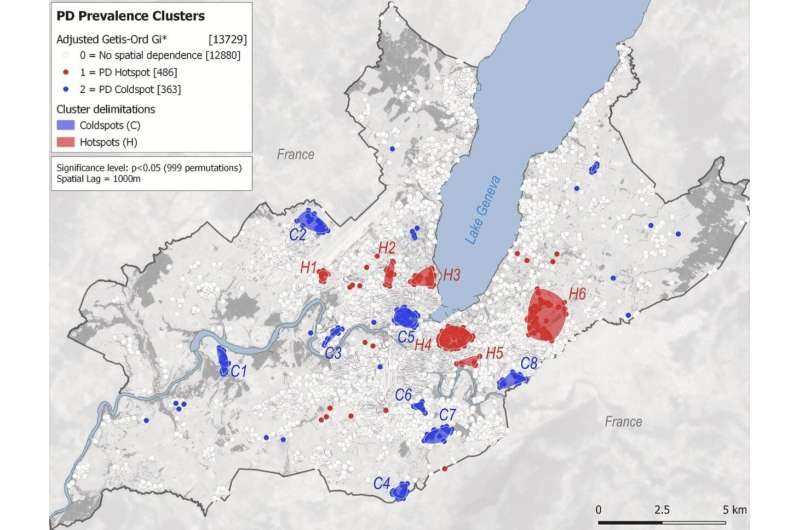 Geospatial data helps to better understand Parkinson's disease