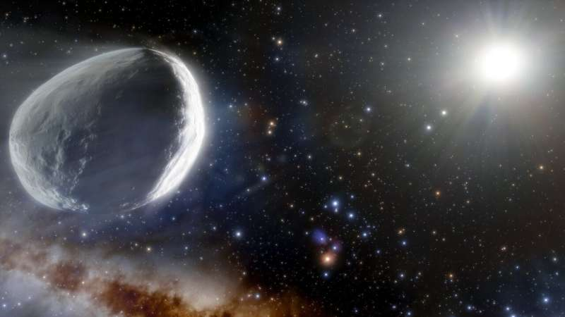 Giant comet found in outer solar system by Dark Energy Survey