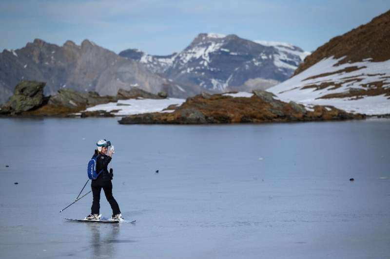 Glaciers in the Swiss Alps are in steady decline, losing a full two percent of their volume last year alone