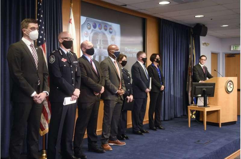 Global sting: Secure FBI-run messaging network tricks crooks