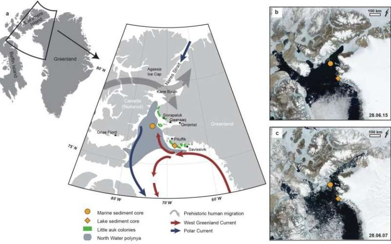 Global warming threatens the existence of an Arctic oasis