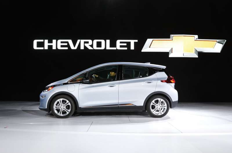 GM issues 2nd Bolt recall; faulty batteries can cause fires