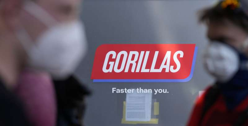 Gorilla tactics: Berlin delivery riders take on $1B startup