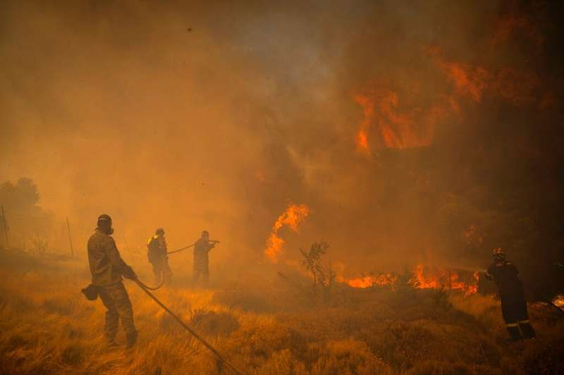 Greece has been hit by a savage fire season this year