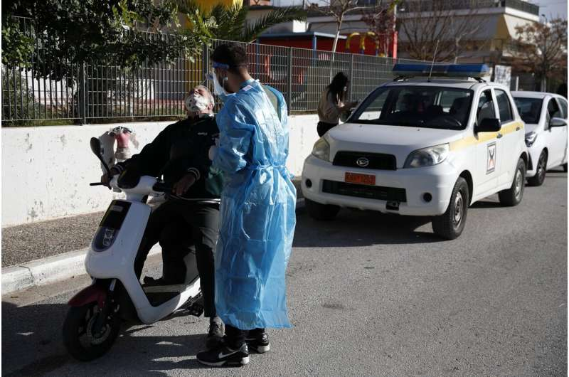 Greece extends lockdown past 2 months, expands vaccinations