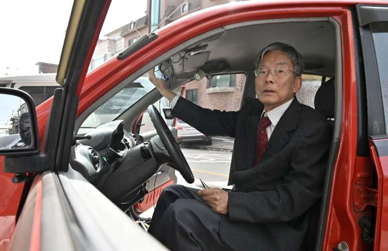 Han Min-hong successfully tested his self-driving car in 1993—a decade before Elon Musk even founded Tesla