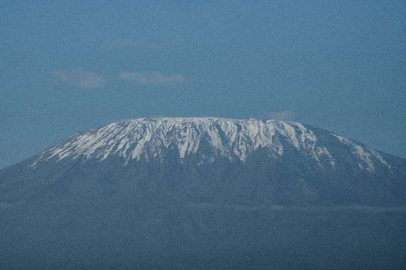 Haven of the wild: Snow-capped Mount Kilimanjaro looks down on the sanctuary