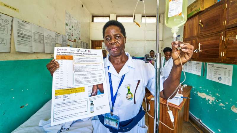 Health system strengthening and education can reduce HIV-related deaths Tanzania