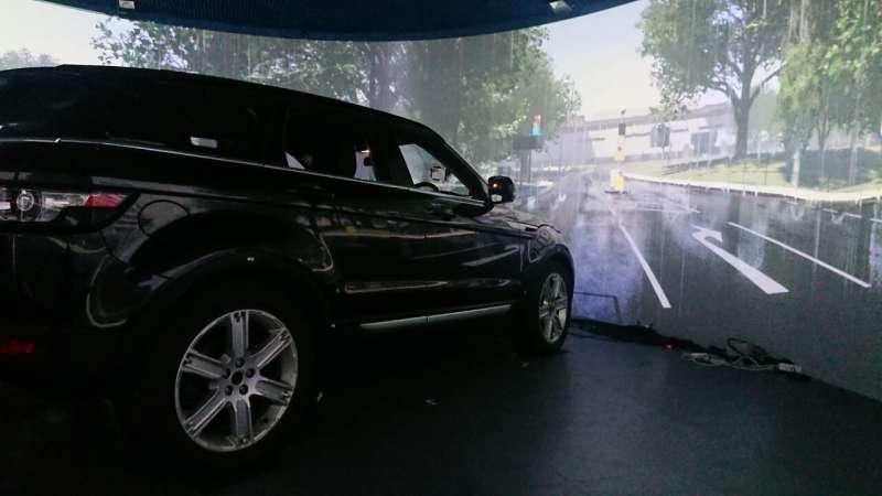 Heavy rain affects object detection by autonomous vehicle LiDAR sensors
